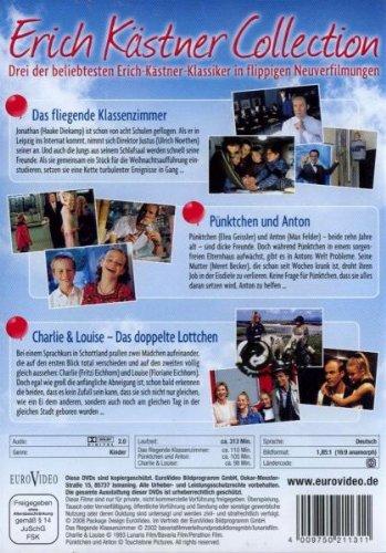 Erich Kästner Collection - Das fliegende Klassenzimmer, Pünktchen und Anton, Charlie & Louise (3 DVDs): Alle Infos bei Amazon