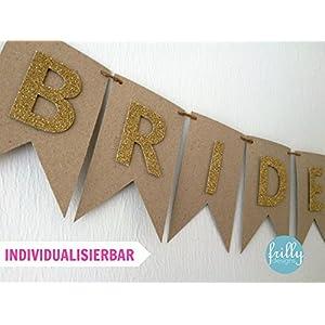 Bride & Groom Girlande