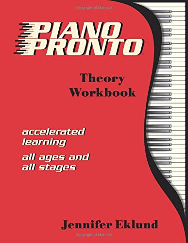 Piano Pronto®: Theory Workbook (Piano Pronto)