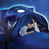 ENFANTS Portable Tente, Mamum enfants Pop Up Tente de lit moustiquaire Chambre à coucher Tente de décoration de festival, Space Adventure, Taille unique