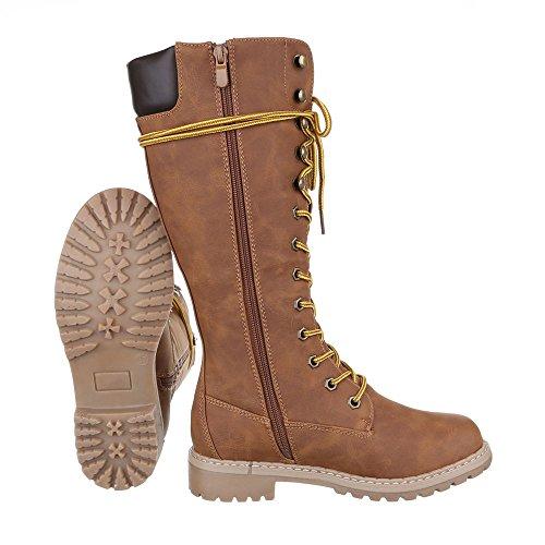 Chaussures, 067, pG-bottes Braun 170-1