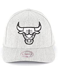 Mitchell & Ness FLEXFIT Snapback Cap - Chicago Bulls gris