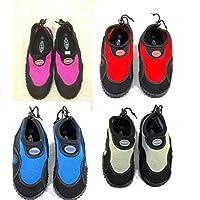aqua shoe black/dark pink (adults size 6)