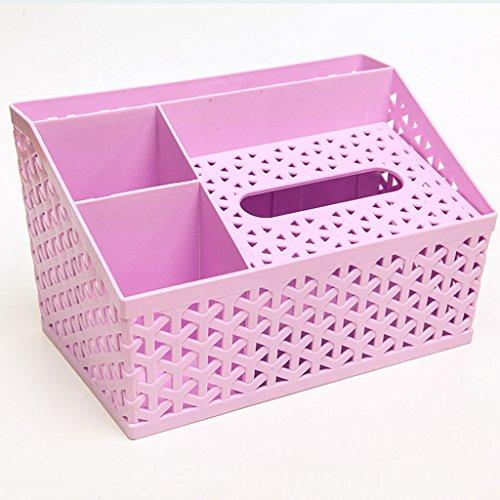 bandeja-de-bombeo-plastico-multifuncion-hollow-imitacion-tejido-caja-de-tejido-remoto-de-control-de-