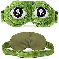 Minasan Lustige Weich Plüsch Sleep Blindfold Eye Mask für Damen und Herren Bequem Kinder 3D Frosch Muster Modellierung... preisvergleich bei billige-tabletten.eu