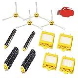 Smartide Kit de cepillos Accesorios de Piezas Kit de Repuesto de Filtro de Cepillo Lateral de Limpieza para Irobot Roomba 700 720 750 760 765 770 Piezas de Piezas Accesorios para iRobot Roomba 700