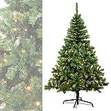 MACO Import Künstlicher Weihnachtsbaum mit Beleuchtung 400 LED Lichter + 1824 Spitzen 270 cm hoch