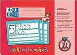 Oxford Zahlen- und Rechenheft/384401600 DIN A4 quer ZL 90 g/qm