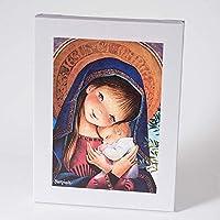 Virgen pórtico 30x40cm. Ilustración de Juan Ferrándiz impresa en lienzo. Serie limitada y numerada