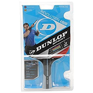Dunlop Unisex Revolution 6500 Paul Drinkhall Table Tennis Bat Advanced Concave Review 2018 by Dunlop