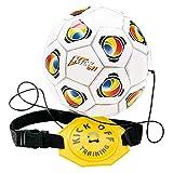 Mondo Toys -  Kick Off Trainer - Trainer da Calcio Bambini / Adulti - Attrezzatura per allenamento Individuale con cintura Regolabile - pallone incluso - 18007
