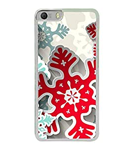 Colourful Cut Outs 2D Hard Polycarbonate Designer Back Case Cover for Micromax Canvas Knight 2 E471