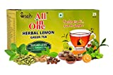 #7: All in One Herbal Lemon Green Tea Sugar -Less(25 Tea bags)