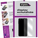dipos I 2X Schutzfolie klar passend für Doogee T6 Pro Folie Bildschirmschutzfolie