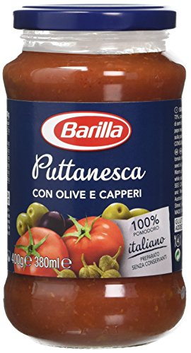 Barilla Puttanesca Sauce, 400 g, Pack of 6