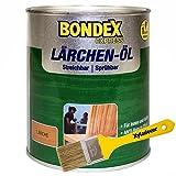 Bondex 2,5 Liter Lärchenöl Express Terrassen Öl + Xyladecor Pinsel