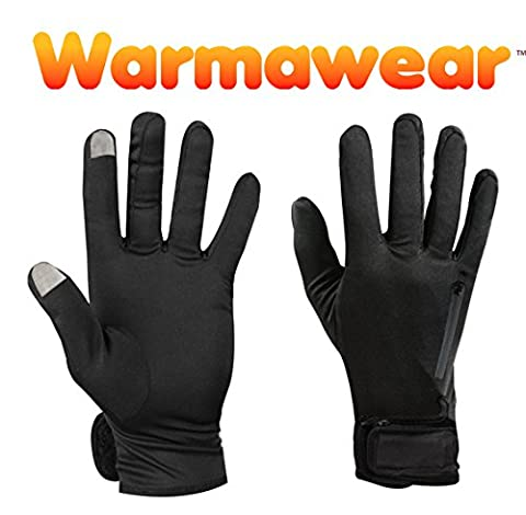 Warmawear Dual Fuel Cold Weather Battery Heated Glove Liners - Medium