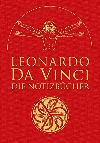 Leonardo da Vinci: Die Notizbücher: in Leinen gebunden mit Goldprägung -