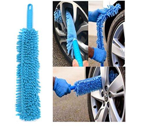 Auto Felgenreiniger Car Wash Bürste Reinigungsbürste flexibel lang Mikrofaser Nudeln Chenille Legierung von shopidea