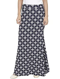 Franclo Women's fish cut style skirt (Best Fit 30-36 Waist) 100% imported fabric
