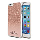 Personalised Sparkly Glitter Phone Case Cover for Apple