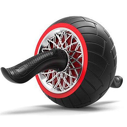 Lisansang Ab Roller-Rad-Übungsgerät Ab Wheel Abdominal-Übungsrad für Kernkrafttraining Mann Frau Gymnastik Heim Gym Ab-Rad-Übungsgerät, Ab-Rad-Roller für Heimtrainer,