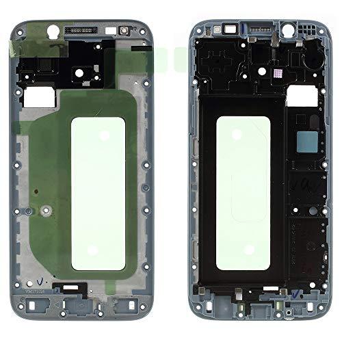 Lcd Display Bezel (Kompatibilität: für Samsung Galaxy J5 2017 J530F SM-J530 Blau Ersatzteil Spare Part Middle Frame SCOCCA Cornice TELAPPER Centrale Front Gehäuse LCD Display Rahmen Bezel Replacement)