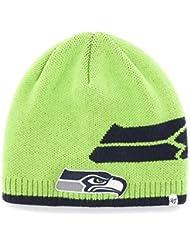 Seattle Seahawks '47 Brand Peaks Knit Beanie by 47 Brand