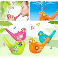 Dominion Care Painting Aquatic Bird Water Whistle (Random Color 1 pc)