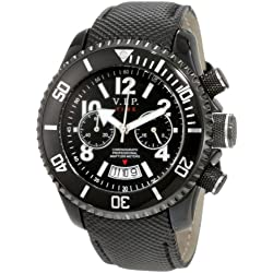 Vip Time Italy Women's VP8004BK Magnum Lady Sporty Chronograph Watch