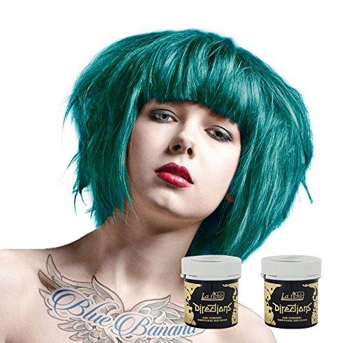(2x La Riche Directions Haarfarbe 88ml (Turquoise - Türkis))