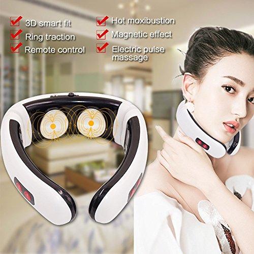 Hals Massagegerät Shiatsu Deep Tissue Tragbare digitale Hals Therapeutische nursal Massagegerät für Geschenk Auto Zuhause Büro