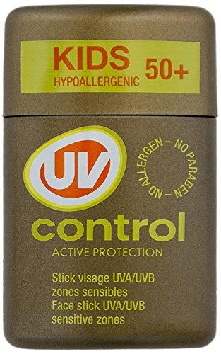 UV CONTROL Stick pour Visage et Zones Sensibles SPF50+ Large 10 g