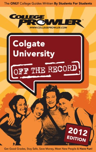colgate-university-2012-english-edition