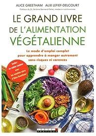 Le grand livre de l'alimentation végétalienne par Alice Greetham