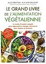Le grand livre de l'alimentation végétalienne : Le mode d'emploi complet pour apprendre à manger autrement sans risques ni carences par Greetham