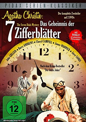 Agatha Christie: Das Geheimnis der 7 Zifferblätter (2 DVDs)