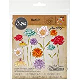 NEW! Sizzix Framelits Dies By Tim Holtz-Flower Garden & Mini Bouquet