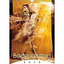 Bodypainting - 2019 (Wandkalender 2019 DIN A4 hoch): Körperbemalung im Wandel der Jahreszeiten. (Monatskalender, 14 Seiten) (CALVENDO Kunst)