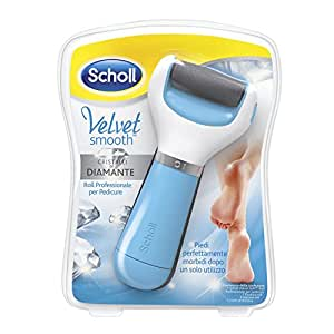 Scholl Roll Pedicure Elettrico Professionale Velvet Smooth, Standard