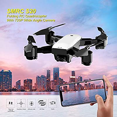 FDBF SMRC S20 FPV Drone RC Quadrocopter With 720P Camera Folding RC Helicopter