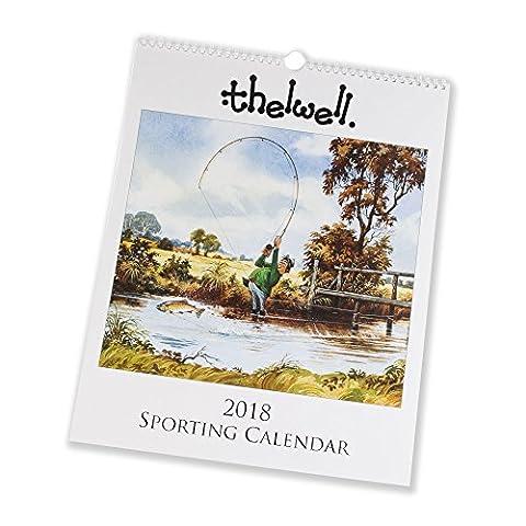 Thelwell Sporting Kalender 2018. Große, Wand Kalender Mit der Sport Cartoons von Norman Thelwell. Tolles, Jagd Angeln oder Horse Racing (Horsey Pony)