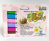 Marcatore Colorato Tessile Set (6ks) Pastello, Marvy, Pennarelli, Colori, Seta