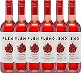 6er Paket - Pleno Rosado DO 2017 - Bodegas Agronavarra | trockener Roséwein | spanischer Wein aus Aragonien | 6 x 0,75 Liter