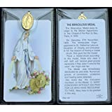 Miraculous Medal ~ Prayer Card and Medal