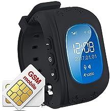 Hangang GPS Tracker Niños Safe Smartwatch Sos Llamadas Localizador de localización de localizador Localizador Para niños