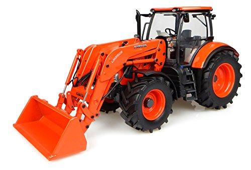 Universal Hobbies Traktor Kubota M7171mit Ladegerät Version Usa Maßstab 1/32orange - Kubota