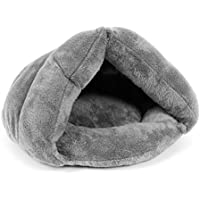 UEETEK Perro de mascota Puppy Cat Kitten Chihuahua Soft Cotton Bed House Sleeping Bag (gris)