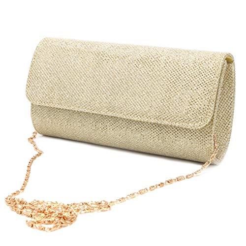 LUSESKY Neue Heiße Verkaufende Billige Kupplung Abendkupplungen Frauen Satin Abendtaschen Handtasche Hochzeit Tasche Geldbörse Weiße Handtasche (Billig Kupplung Brieftasche)