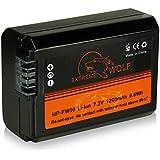 Power Batería NP-FW50 para Sony NEX-3 | NEX-3A | NEX-3D | NEX-3K | NEX-5 | NEX-5A | NEX-5D | NEX-5H | NEX-5K | NEX-6 | NEX-7 | Sony Alpha: 33 (SLT-A33) | 37 (SLT-A37) | 55 (SLT-A55)